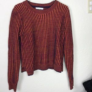 cAbi cable knit sweater
